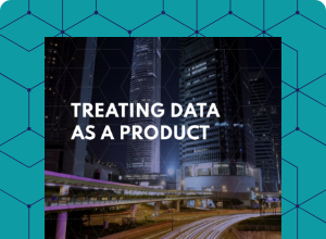 Treating data as a product